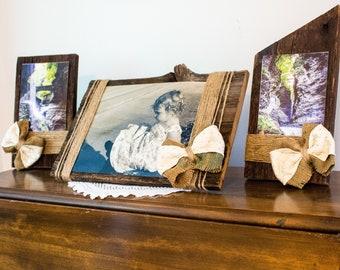 Unique Wood Frames Etsy