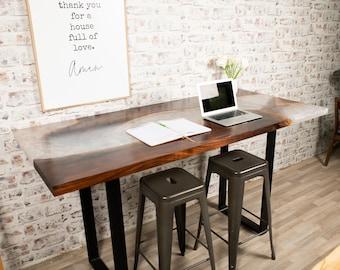 Black Walnut Pearl Table
