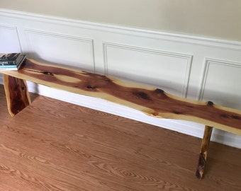 Red Cedar Bench