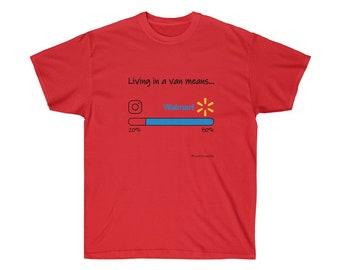 eb4246cf Reallifevanlife IG Walmart T-shirt Men