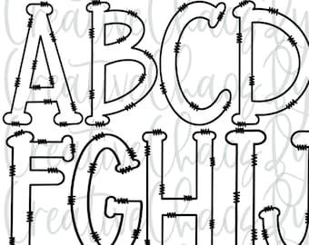 Cup of Doodles Alphabet Set