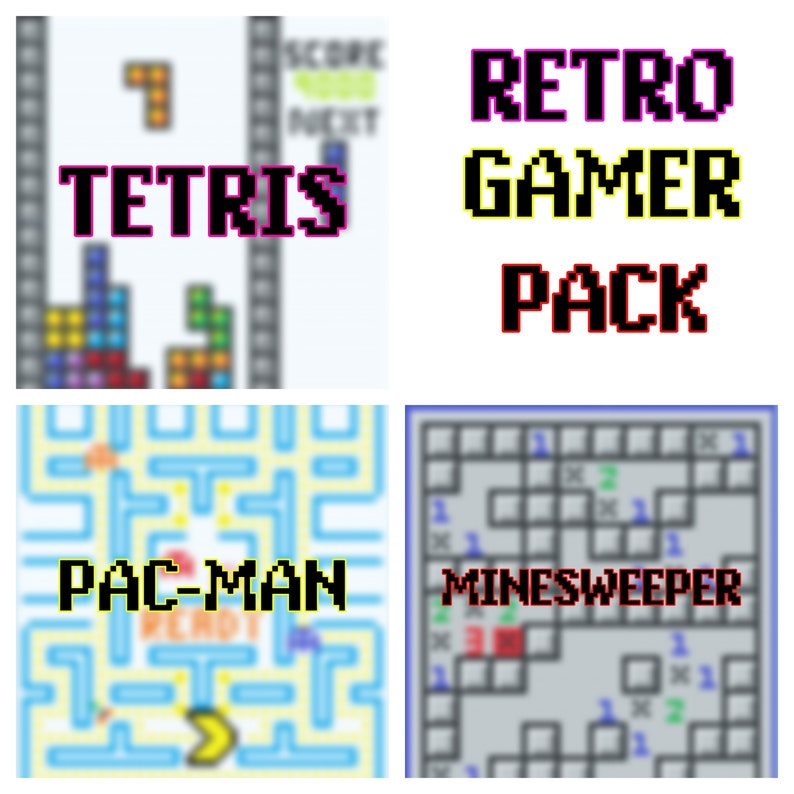 Retro Gamer Blankets *PATTERN ONLY*