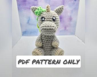 Little Unicorn Crochet PATTERN