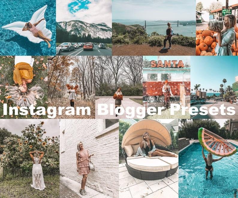 Lightroom Mobile Preset Instagram Filter Blonde Tan image 0