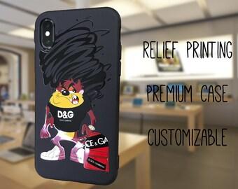 5ada8914f Tasmanian Devil iPhone XS MAX case, Looney Tunes iphone XR case, D&G galaxy  s10 plus case, louis vuitton iPhone xs case, gucci huawei p30