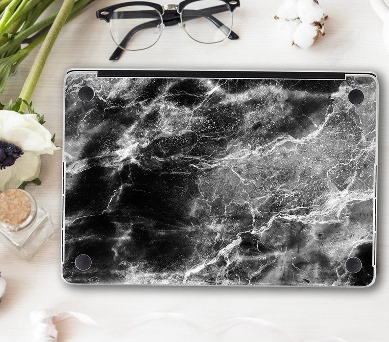 Black Marble Skins Macbook Air 11 Pro 15 Retina 2019 Pattern Decal Macbook 12 Air 13 A1932 White Divorce Skins Macbook Pro 13 Touch Bar