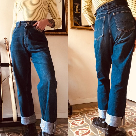1950s JCP Foremost Selvedge denim Size 25""