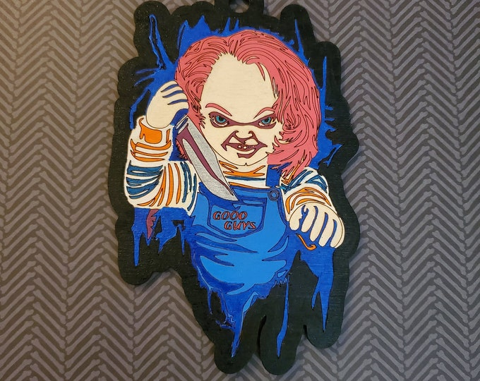 Paint Your Own Horror Movie Hangers