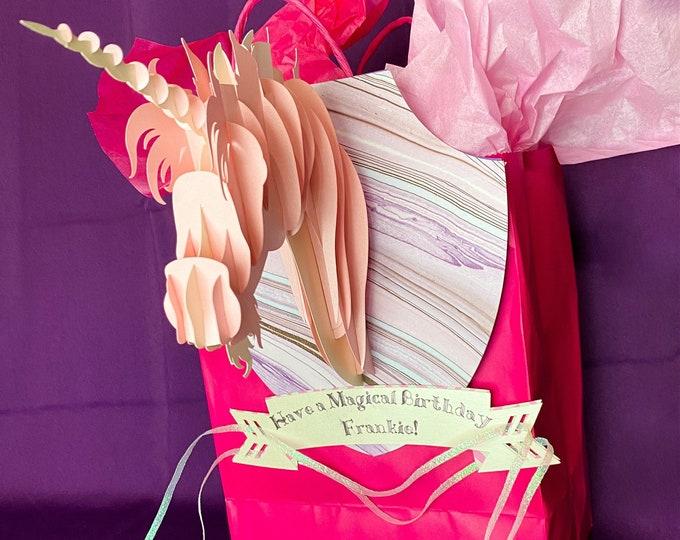 3-D Animal Bag Bangles and Gift Sleeves