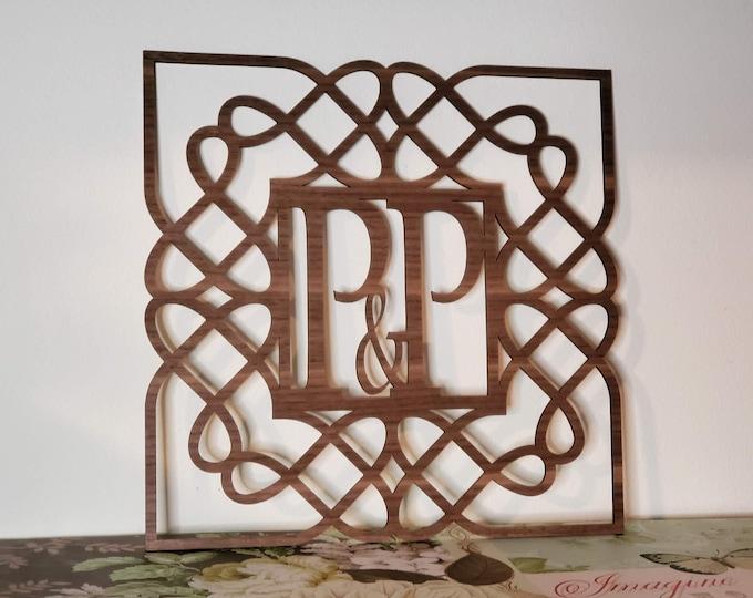 Celtic Monogram Frame