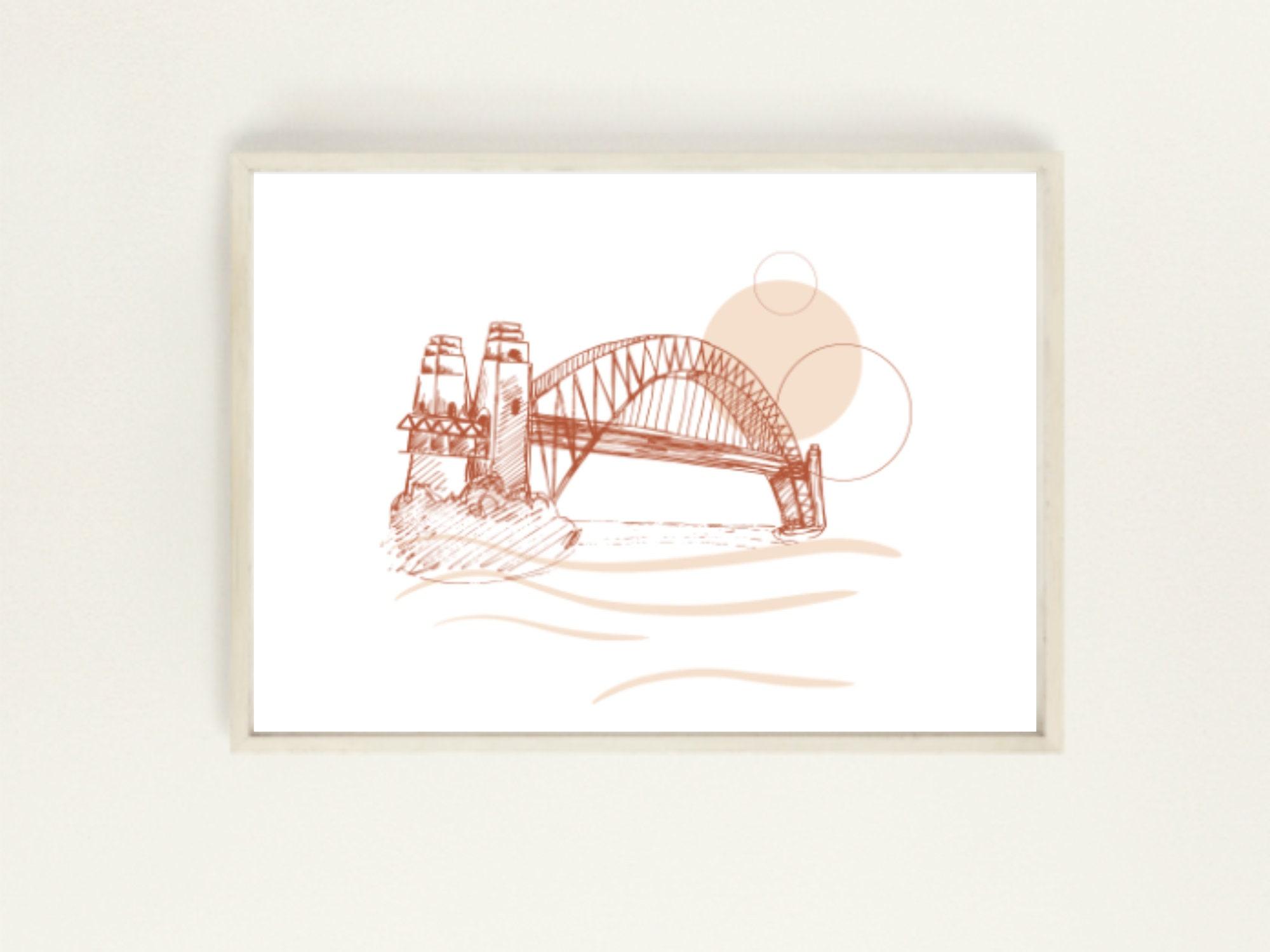 Australia Print Wall Art Sydney Print At Home GPO Digital Download File