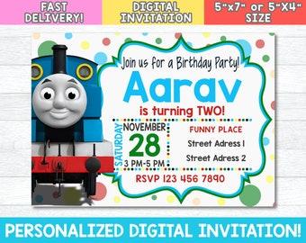 Thomas Invitation Etsy