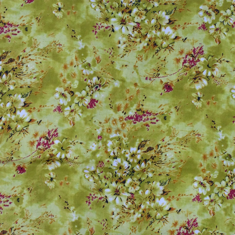 Paisley Fabric Maroon Color Cotton Cambric Quilt Craft Sewing Fabric By The Yard