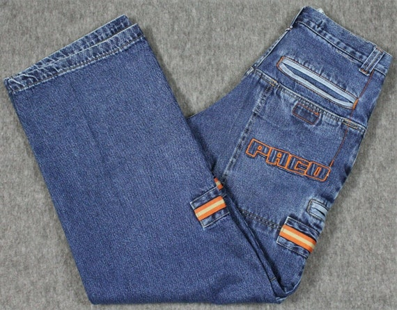 Vintage Paco Jeans Baggy Fit Wide Leg Spell Out Je