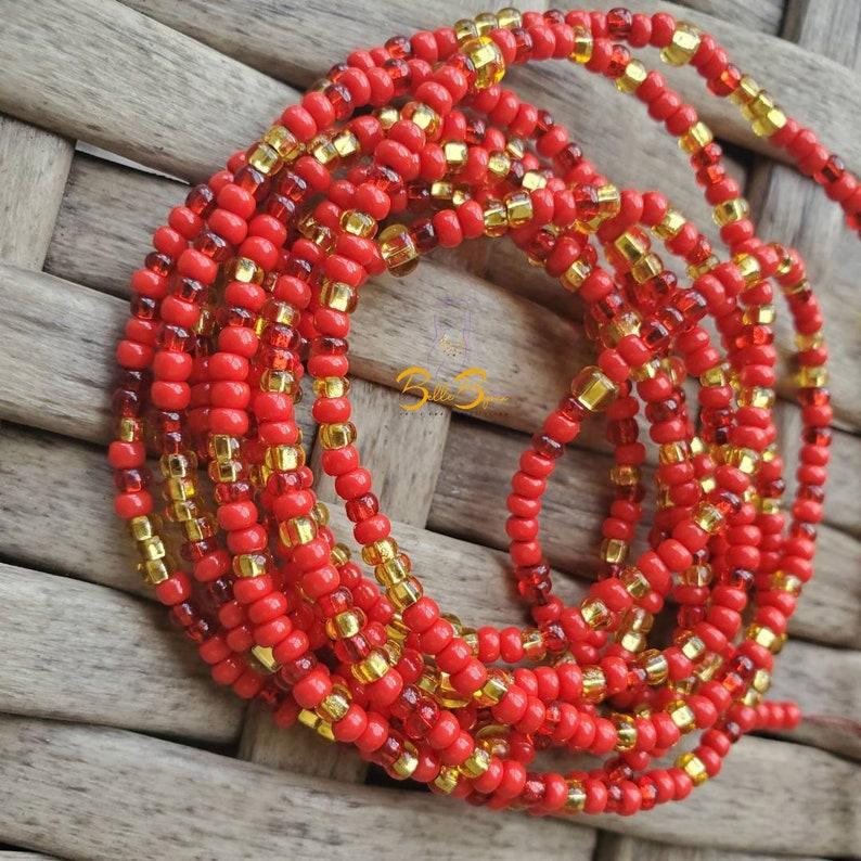 Waist beads Belly beads Goddess beads Perseverance