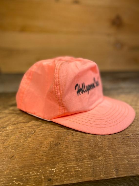 Vintage Neon Pink Cap Snapback