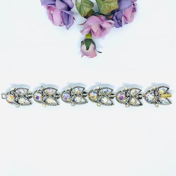 Vintage Kramer Bracelet, Strass Bracelet, Mid Cent