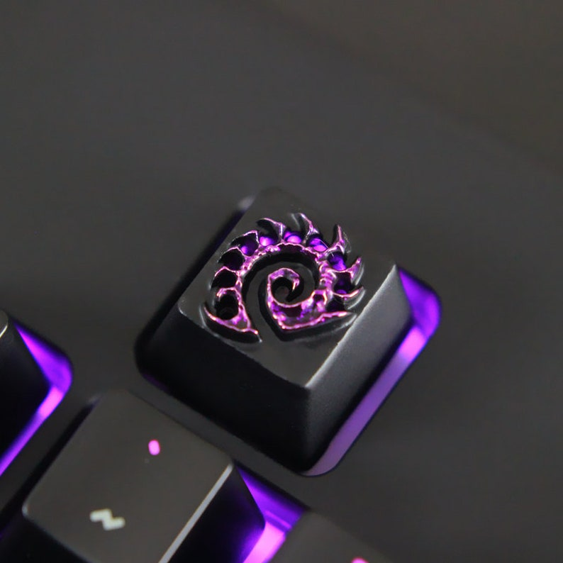 Starcraft Zerg Swarm logo inspired keycap for mechanical keyboard