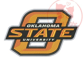 aa6880b7c99 Oklahoma State Cowboys 5 Sizes Embroidery Designs Football Embroidery  Design - Instant Download PES Embroidery Designs