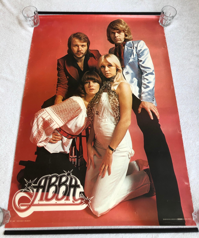 ABBA Scandecor Poster 20 schwedische Poster 20er Jahre Björn Ulvaeus  Agnetha Fältskog Benny Andersson Anni Frid Lyngstad Vintage selten