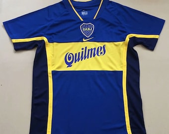 d87d192a8bc 2001 Boca Juniors Soccer Jersey Home Custome Any Name And Number