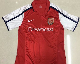 d89d8c750c3 2000 Arsenal Soccer Jersey Home Custome Name And Number