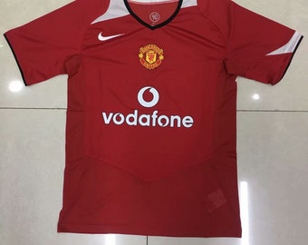 3161fe2bda4 2001-2002 Manchester United Soccer Jersey Custome Any Name And Number