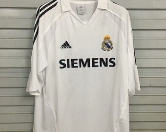 fdb0ee740 2006 Real Madrid Soccer Jersey Home Custome Name And Number