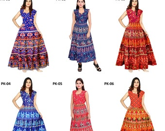 640c146ae1 Indian Dress Mandala dress Boho dress Hippie dress Vintage dress Cotton  dress Gypsy dress Summer dress Wrap dress Kurti for Women