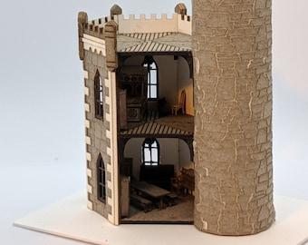 Medieval castle furniture kits