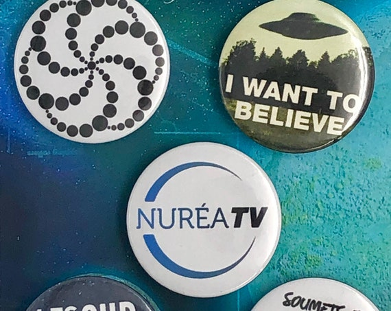 Lot of 5 Magnets 37mm - NURÉA - A
