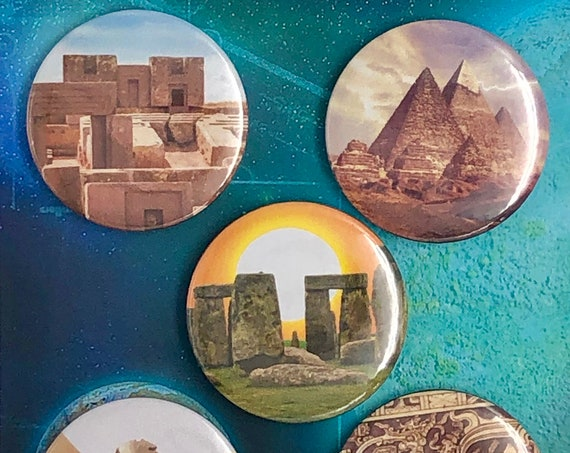 Large Badges - Archaeological Sites