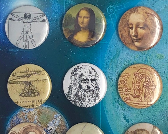 Little Badges - Leonardo da Vinci