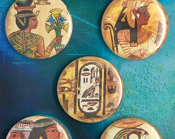 Lot of 5 Magnets 37mm - Egypt - B