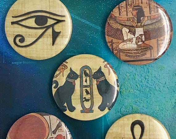 Lot of 5 Magnets 37mm - Egypt - A