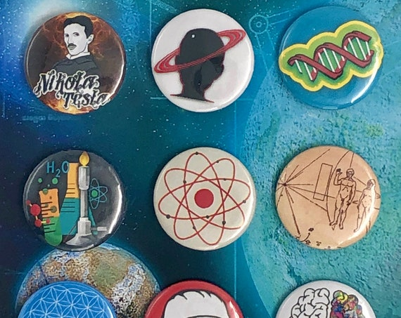 Little Badges - Science - B