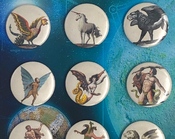 Little Badges - Myths - Legends - B