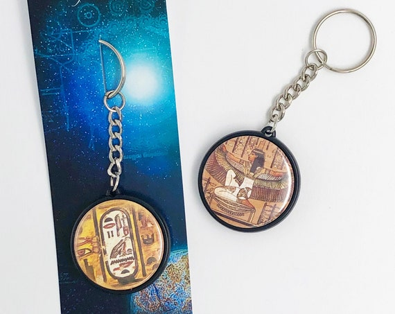 TWO-sided PORTE-CLEFS - Egypt - B