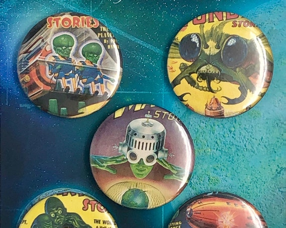 Big Badges - Vintage Comics