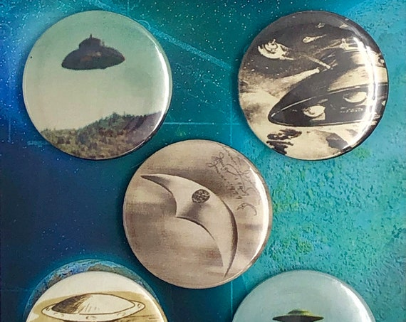 Big Badges - UFO - UFOs