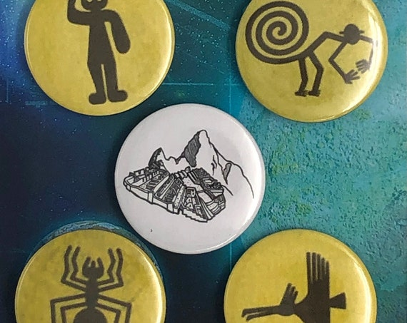 Big Badges - Nazca Lines