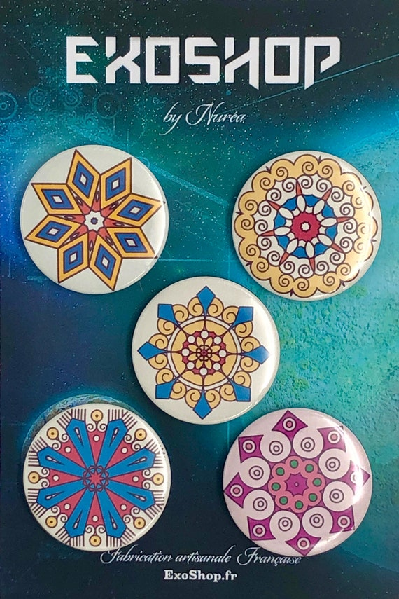 Big Badges - Mandalas