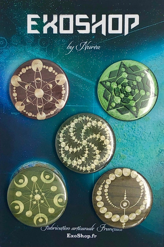 Big Badges - Crop Circles - A