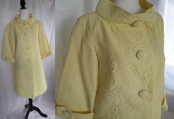 60s Coat/Vintage 60s Coat/Audrey Hepburn Coat/Yell