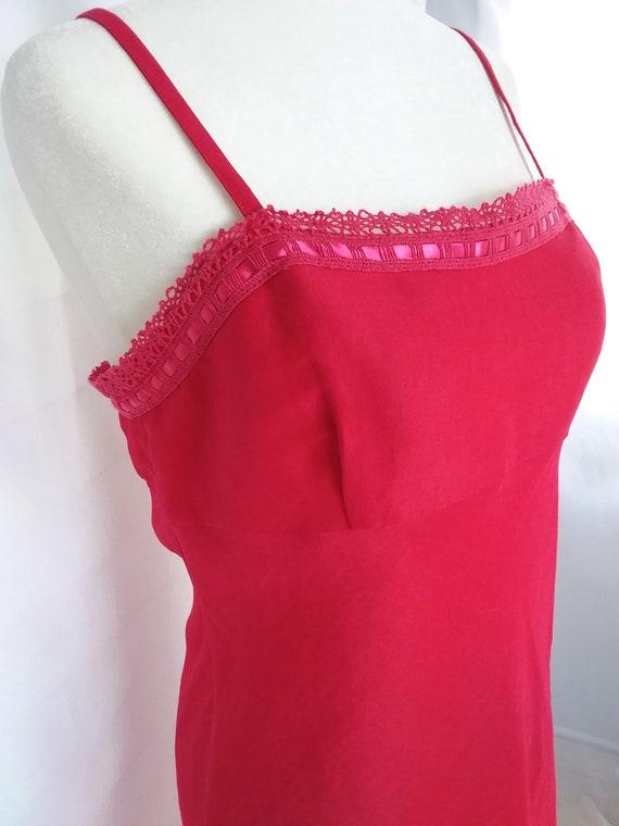 Vintage Pink Linen Sundress/Pink Sundress - image 3
