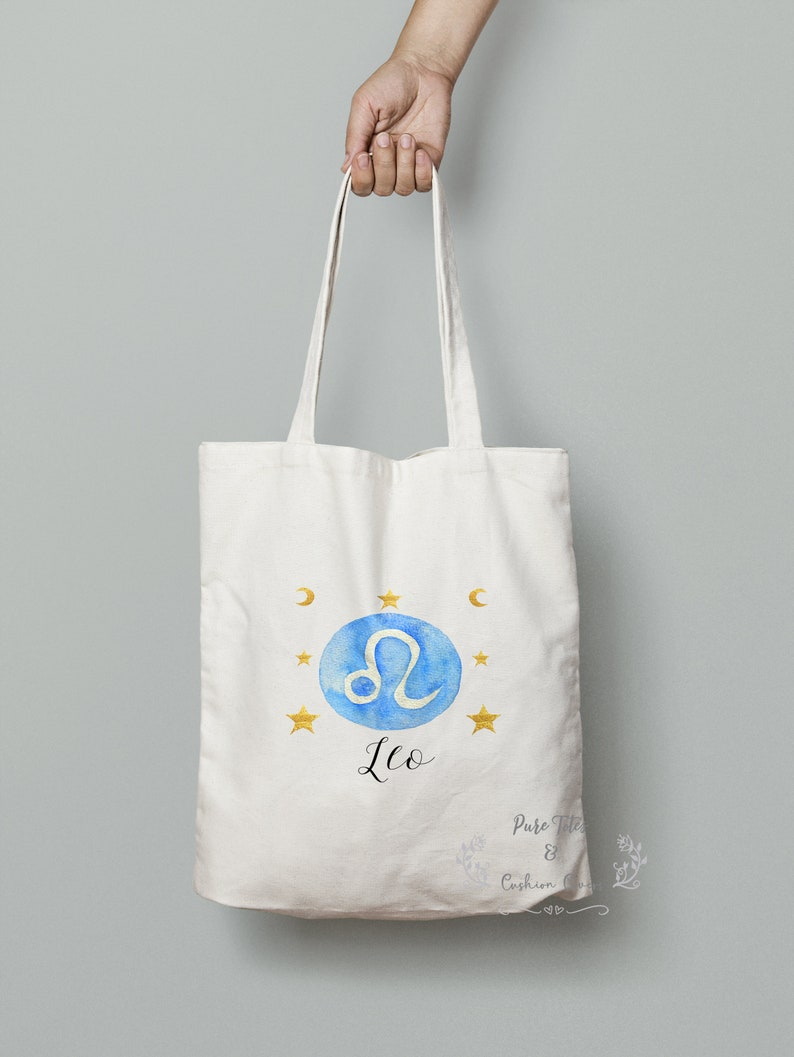 Leo Zodiac Tote Bag Gifts For Him Astrology Tote Bag Leo Gift Zodiac Gifts Gifts For Her Zodiac Tote Bag Astrology Gifts