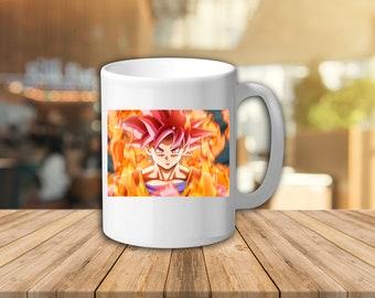 Dragon Ball Z Mug Goku Gift Cartoon Tv Show Present Custom Kitchen Gifts Birthday