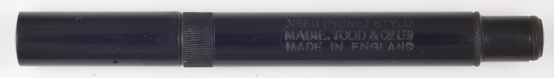 20 stylographic fountain pen Mabie Todd Cygnet No