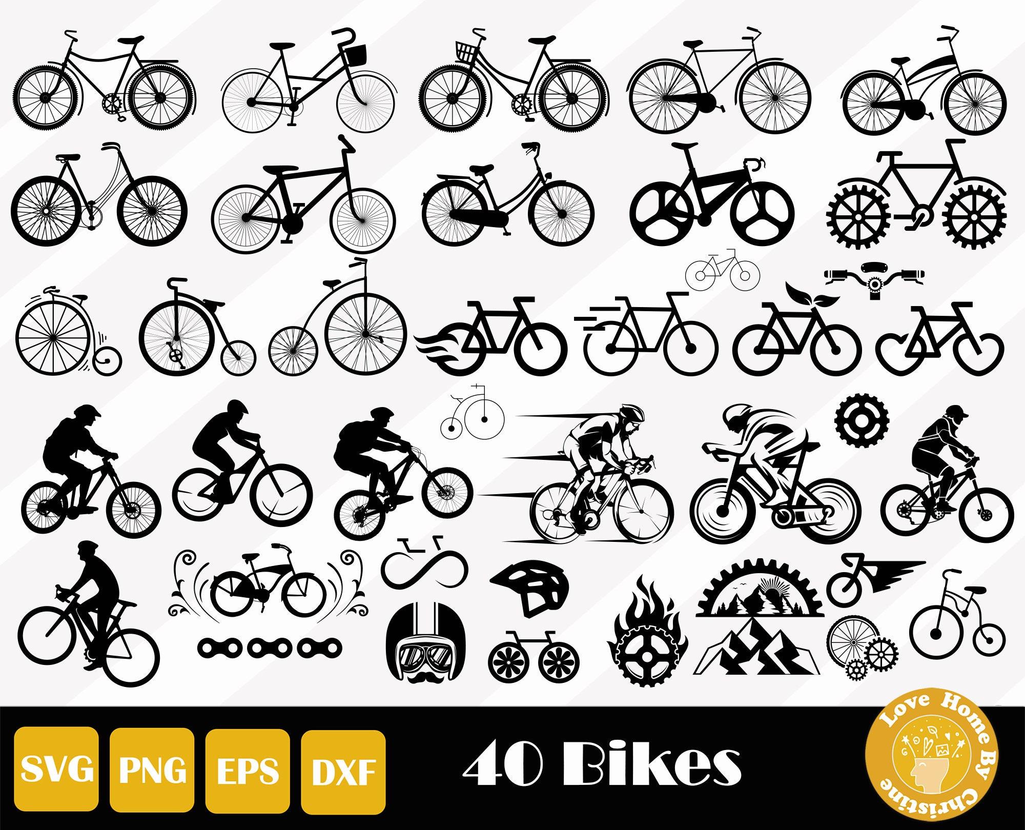 Cycologist SVG Laser Cut File Cuttable Design Bike bicycle biker Glowforge Cricut Silhouette Digital File 3D Sign Modern Decor