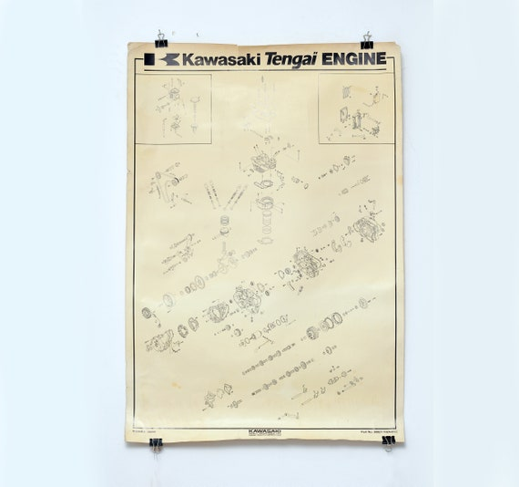 Kawasaki Engine Diagram